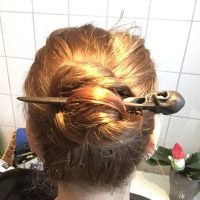haarstab haarforke hair stick fork